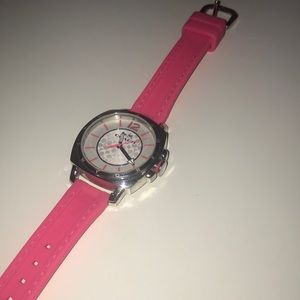 Authentic Pink Coach Watch